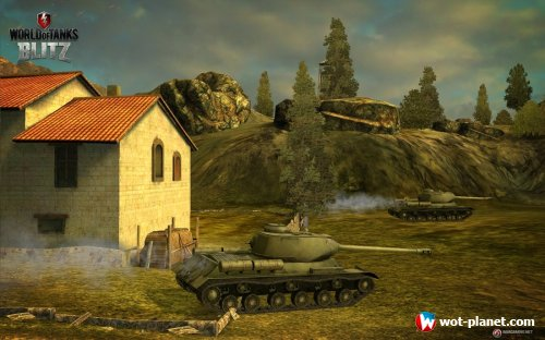 World of Tanks Blitz - танки на планшетах