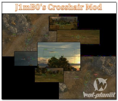 Прицел от J1mB091 для World of Tanks 0.9.1
