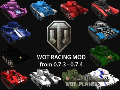 WoT Racing Mod Kit для 0.7.3 - 0.7.4
