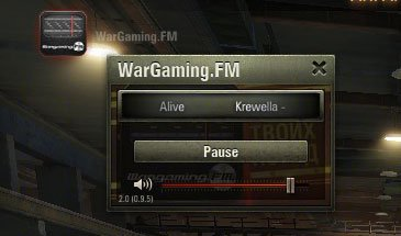 Радио Wargaming FM в ангаре World of Tanks 0.9.13