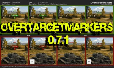 OverTargetMarkers Version: 2.0.5 for 0.7.1