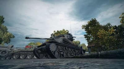 Ремоделинг М4А3Е8 на М4А3Е8 FURY для World of Tanks 0.9.13