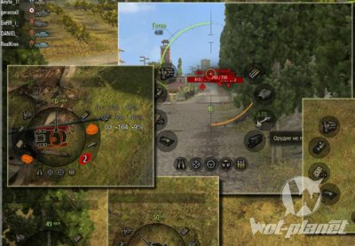 Damage Panel для World of Tanks 0.8.4