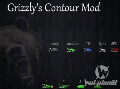 Grizzly иконки 0.8.5