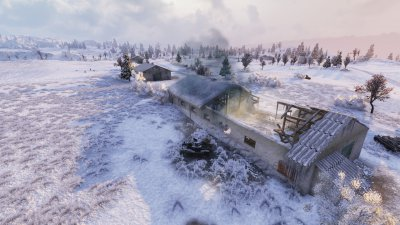 Зимний мод 2016 для World of Tanks 0.9.13