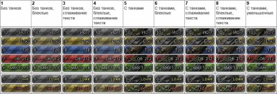 Иконки для World of Tanks 0.7.5 от Prudenter