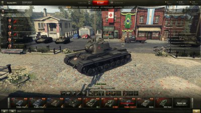 Ангар к 1 мая для World of Tanks 0.9.7