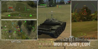 Прицел для world of tanks 0.7.3 от MLRS