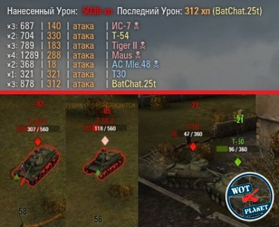 XVM-Lite (OTM) для World of Tanks 0.8.2