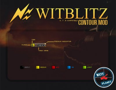 WITBLITZ - иконки для World of Tanks 0.8.1