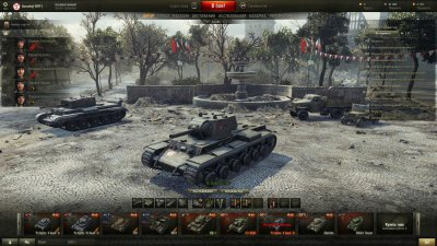 "Ангар ""День Победы 2015"" для World of Tanks 0.9.13"