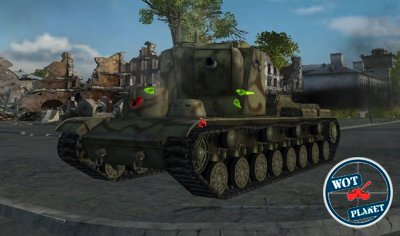 Мод для World of Tanks Damage stickers