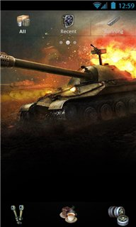 Тема World Of Tanks для Андроида