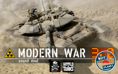 Modern War Sound Mod v.3.1 - Русская версия для World of Tanks 0.8.11