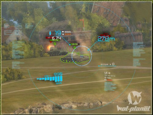 прицелы world of tanks mod