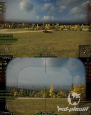 NoScroll ��� World of Tanks 0.9.9